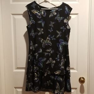 CeCe butterfly dress
